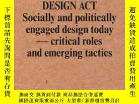 二手書博民逛書店Design罕見ActY255562 Magnus Ericson Sternberg Press 出版20