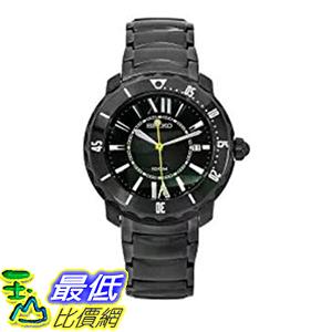 [美國直購] Seiko Men s 男士手錶 SKK893P1 Stainless-Steel Analog with Black Dial Watch