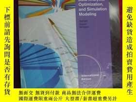 二手書博民逛書店(16開本)Data罕見Analysis Optimization and Simulation Modeling