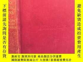 二手書博民逛書店LETTERS罕見AND SOCIAL AIMS BY RALPH WALDO EMERSON 愛默生 18.5X