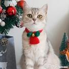 貓咪項圈狗狗脖圈手工毛線編織寵物脖子飾品泰迪美短英短圣誕圍脖 聖誕節全館免運