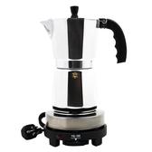 咖啡機 意大利摩卡壺 虹吸式咖啡壺 高性價比意式咖啡壺 電摩卡壺咖啡器 星隕閣