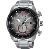 ALBA 雅柏 SignA 星際巡航計時手錶-金屬色漸層/45mm VD57-X066D(AM3267X1)