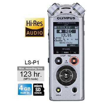 【OLYMPUS】 數位錄音筆 LS-P1