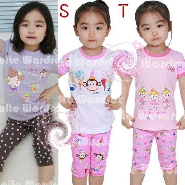 韓版《GW家居款-女》短袖小套裝