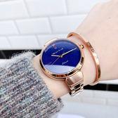 RELAX TIME 閃耀系列 星空特別版女錶-藍x玫瑰金/36mm RT-68-10