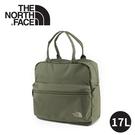 【The North Face METRO TOTE耐磨帆布多功能背提包17L《綠》】3RHR/手提包/旅行袋
