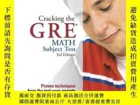 二手書博民逛書店Cracking罕見The Gre Math Test, 3rd EditionY256260 Steven