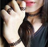 (現貨) 編織魚線刺青 戒指、項鍊、手鍊、腳鍊 四款任選 (平日天天出貨)