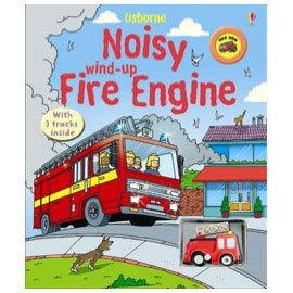【麥克書店】 NOISY FIRE ENGINE /內附1台小車@有聲音