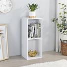 書櫃 收納 堆疊 置物櫃【收納屋】簡約加高二空櫃-白色& DIY組合傢俱