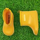 日本Kids Foret  B81824Y  黃色 兒童雨鞋