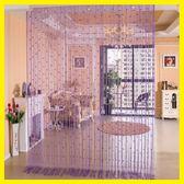 黑五好物節 歐式水晶珠線簾加密隔斷簾裝飾客廳臥室玄關