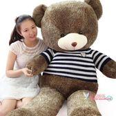 絨毛玩具 生日禮物泰迪熊貓公仔毛絨玩具布娃娃抱抱熊女生大熊玩偶抱枕可愛 多色T