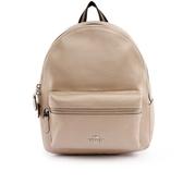 【COACH】皮革口袋後背包(中)(金色) F39196 SV/PL