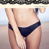 Chasney Beauty-魅惑約定 S-XL花型蕾絲三角褲(黑)