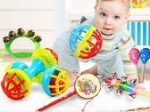 新生嬰幼兒寶寶手搖鈴玩具3-6-12個月0-1歲男孩女孩益智早教玩具     西城故事