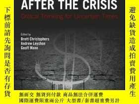 二手書博民逛書店Money罕見and Finance After the Crisis: Critical Thinking fo