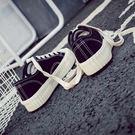 百搭帆布鞋 女學生韓版休閒鞋【多多鞋包店】z939