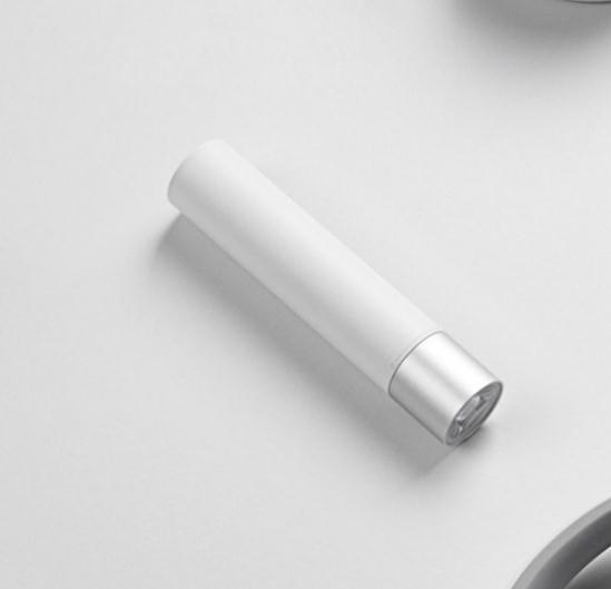 小米 隨身手電筒 LED強光車載便攜USB 可充電式 戶外家用照明設備 行動電源