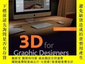 二手書博民逛書店3d罕見For Graphic DesignersY464532 Ellery Connell Sybex,