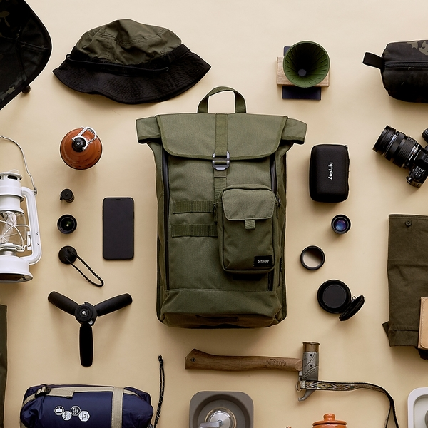 bitplay 24L 旅人包+旅人小包 戶外用品 外掛系統 嘖嘖募資 行李袋 outdoor