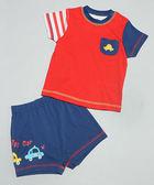 Hallmark Babies  男嬰竹纖維套裝 小小玩具車(上裝+下裝)HC1-B08-04-BB-PR