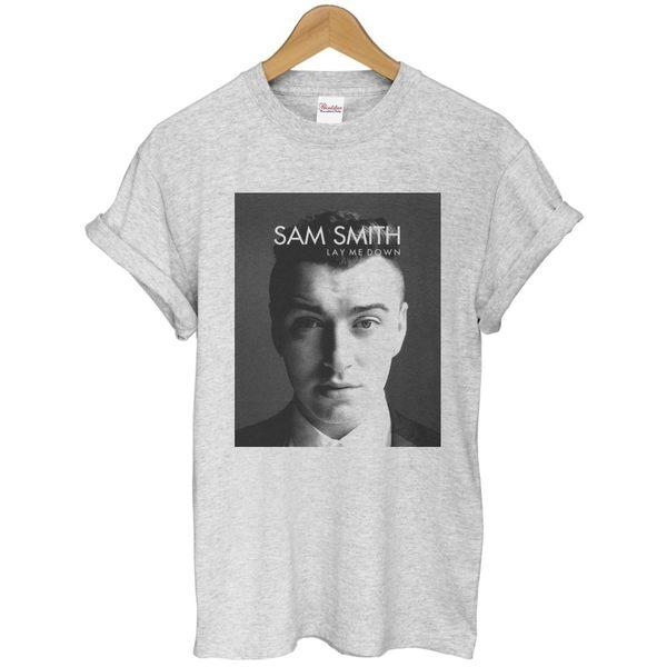 Sam Smith-LAY ME DOWN短袖T恤 2色 山姆 史密斯Latch La Stay with Me 390