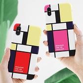韓國 抽象藝術 硬殼 手機殼│iPhone 6 6S 7 8 Plus X XS MAX XR 11 Pro LG G7 G8 V40 V50│z8786