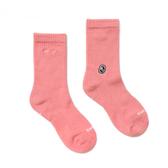 H2O LAB CREW COCKS 玫瑰粉 純色 中高筒襪 男女 (布魯克林) 20SS01PK