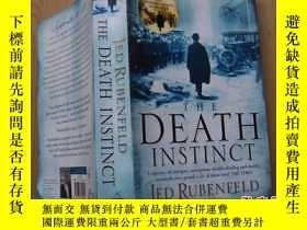 二手書博民逛書店THE罕見DEATH INSTINCT(死亡本能的Jed Rub