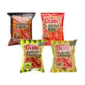 菲律賓 Oishi 特辣蝦餅/辣蝦餅/綠辣椒味蝦餅/酸甜味蝦餅 (45g) 4款可選【小三美日】