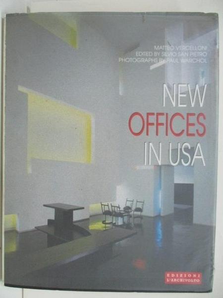 【書寶二手書T1/建築_DQZ】New Offices In USA
