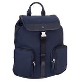 MONTBLANC 萬寶龍Sartorial Jet系列後背包-小/藍色 118383