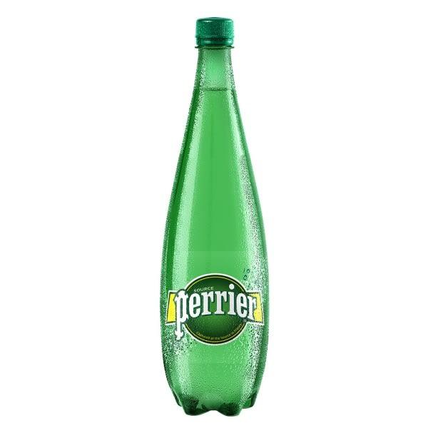 【沛綠雅Perrier】氣泡天然礦泉水-原味 寶特瓶(1000ml) x 12瓶 (箱購)