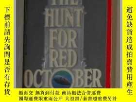 二手書博民逛書店英文原版罕見The Hunt for Red October [