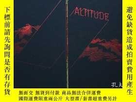 二手書博民逛書店當代平面設計書籍罕見Altitude:Contemporary