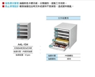 [ 家事達 ] 【天鋼Tanko】 A4L-104 桌上型A4文件箱 特價 公文櫃