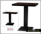 {{ 海中天休閒傢俱廣場 }} C-99 摩登時尚 餐桌系列 455-07 2X2尺美耐板餐桌/烤黑/烤銀腳(顏色可挑選).