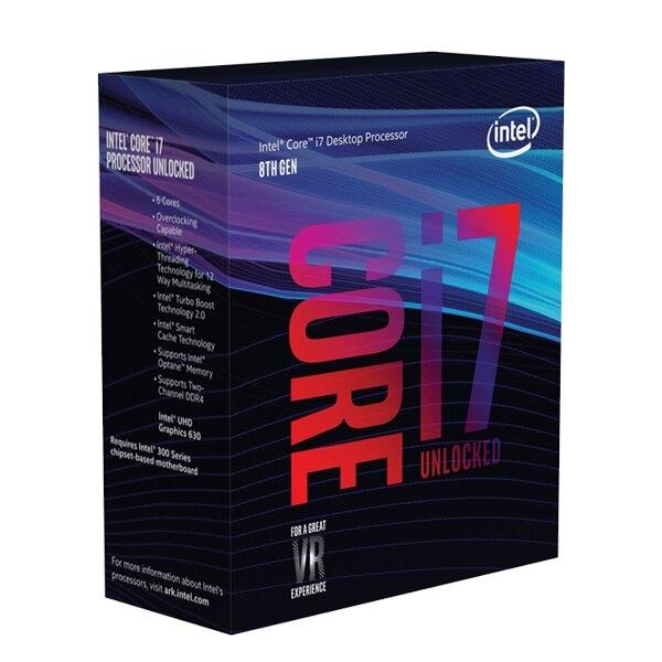 Intel Core i7-9700K CPU 盒裝中央處理器
