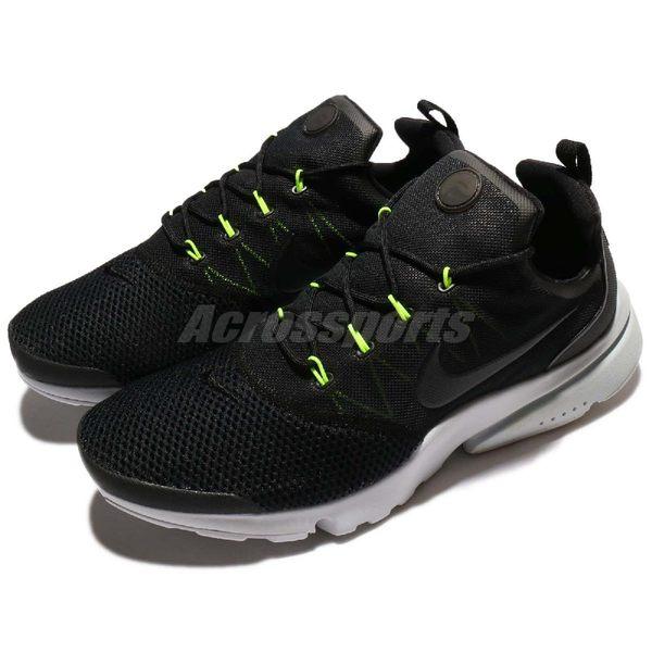 Nike 休閒慢跑鞋 Presto Fly 黑 灰 低筒 魚骨鞋 進化版本 襪套式 運動鞋 男鞋【PUMP306】 908019-004
