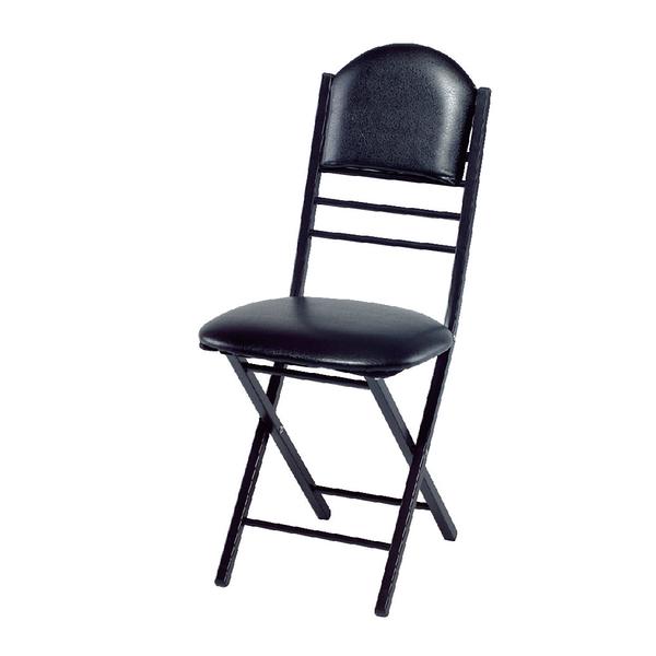 【采桔家居】凱夫 時尚皮革折疊餐椅2入(三色可選)