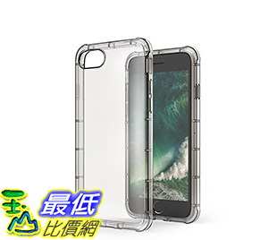 [106美國直購] iPhone7 Case Anker ToughShell AirShock Protective Clear Case for iPhone7(Smoke) 手機殼