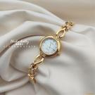 vintage高級感珍珠貝母盤小眾輕奢復古手鏈手表閨蜜禮物【小獅子】
