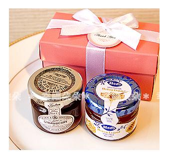 Double Love Pink盒「果醬+蜂蜜」二入禮盒.甜蜜佈置.結婚婚禮小物.工商.禮品