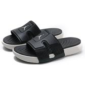 NIKE 拖鞋 JORDAN HYDRO 8 黑 白LOGO 運動 男 (布魯克林) CD2803-002