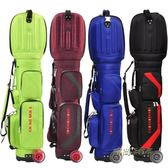 BUSHNELL高爾夫球包 多功能高爾夫航空包 抗壓旅行包 飛機托運包igo「時尚彩虹屋」