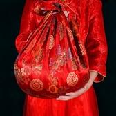 婚慶用品婚禮包袱皮新娘新人嫁妝喜盆包裹布