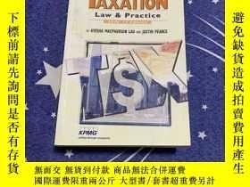 二手書博民逛書店英文原版罕見Hong Kong taxation:law and practice 2016--17Edition