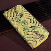 中國風云錦女士手包民族特色手工藝刺繡錢包
